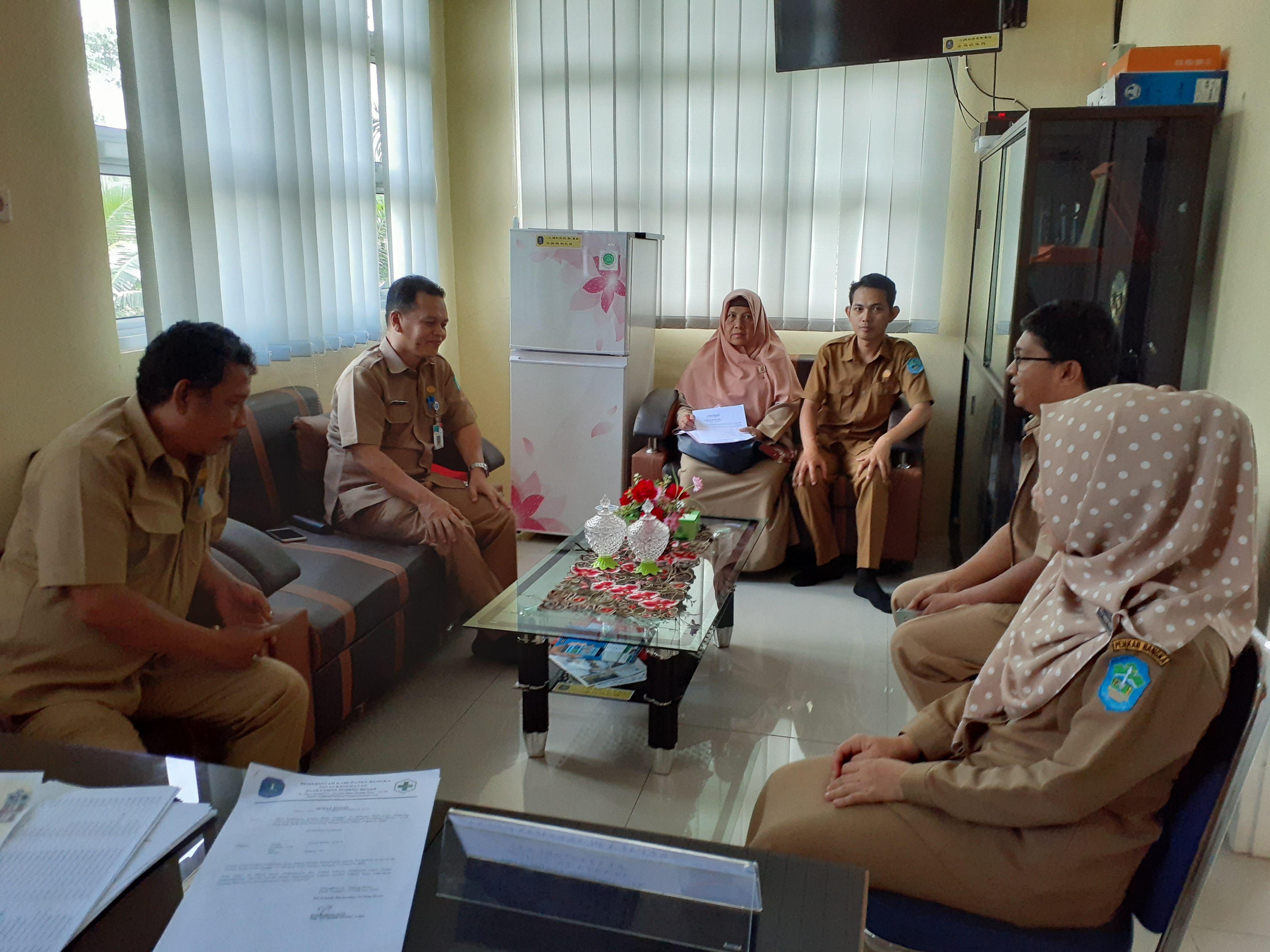 Monitoring Pelayanan Di Kecamatan dan Puskesmas Puding Besar - (Ada 0 foto)