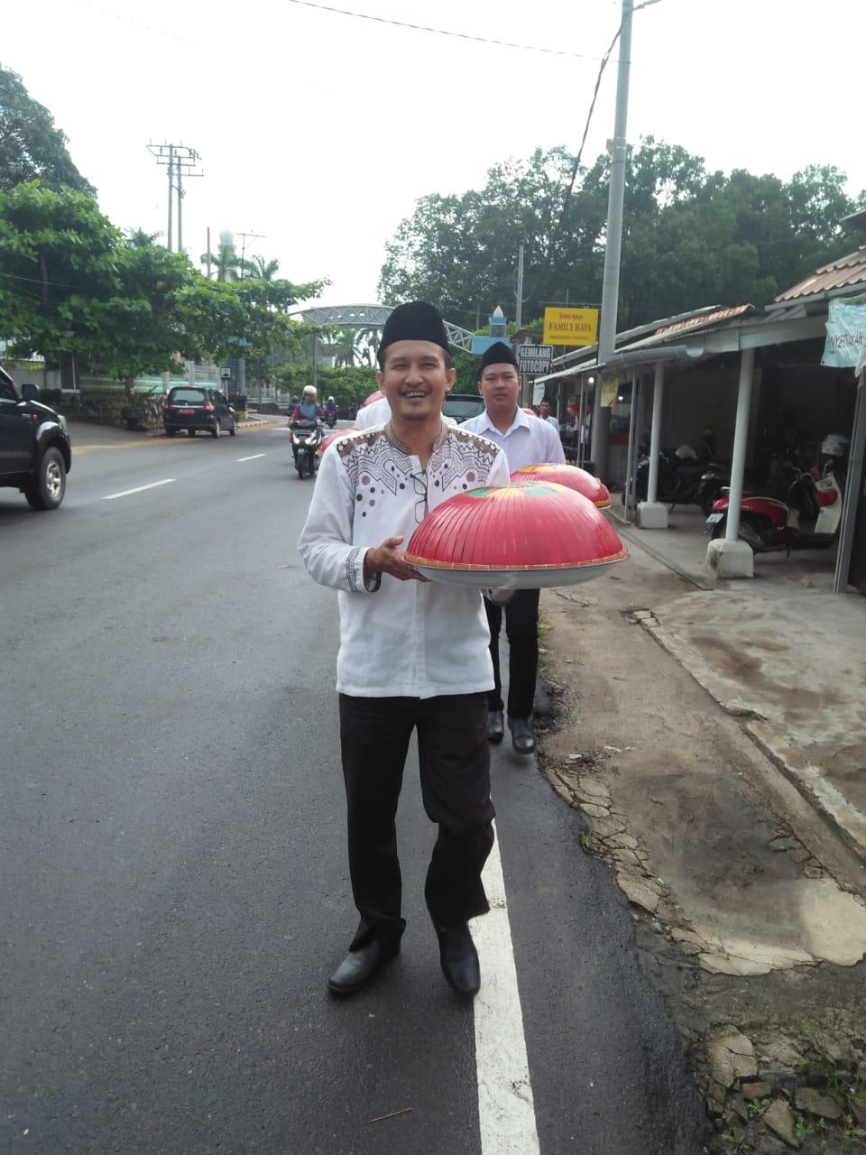 Partisipasi Tim Disdukpencapil Kab. Bangka dalam Acara Nganggung Bersama - (Ada 3 foto)