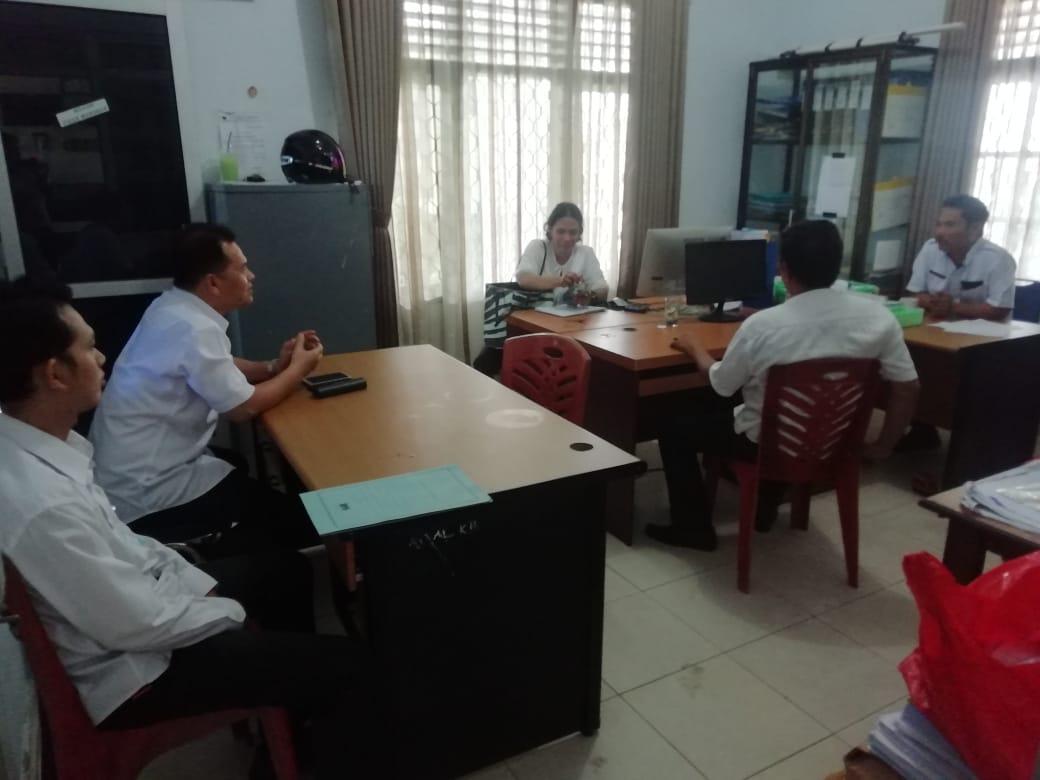 Monitoring Pelayanan Di Kecamatan Merawang - (Ada 1 foto)