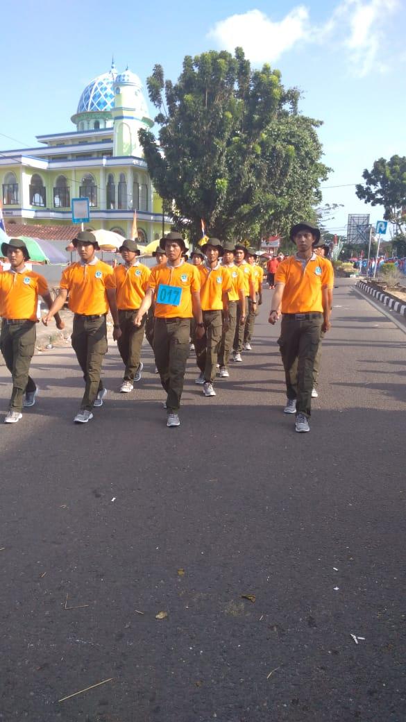 Regu Pawai Dinas Kependudukan dan Pencatatan Sipil Kabupaten Bangka - (Ada 3 foto)