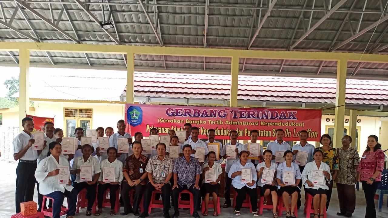 Pencatatan Perkawinan dan Pengesahan Anak Di Desa Deniang - (Ada 7 foto)